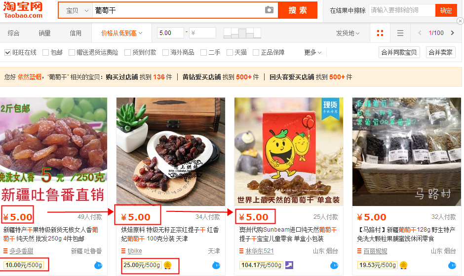 哪些情况导致你的商品按价格排序搜索不到?-第2张-讯沃blog(www.77nn.net)
